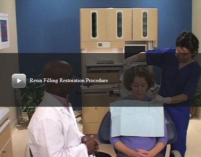 Resin Filling Restoration Procedure