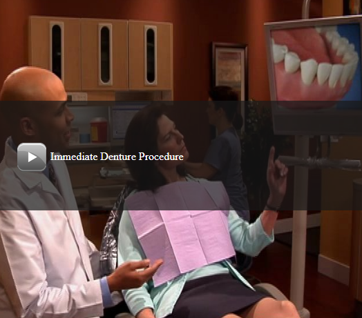 Immediate Denture Procedure